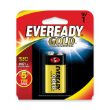(1) 9Volt Eveready Gold Battery WB9V