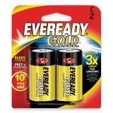 (2) Pack of Eveready Gold C Batteries WBC