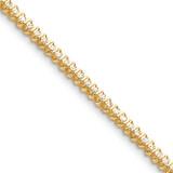 Diamond tennis bracelet 14k Gold X2000AA