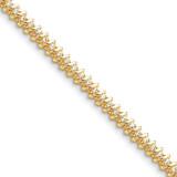 Diamond tennis bracelet 14k Gold X2002A