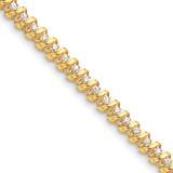 Diamond tennis bracelet 14k Gold X2030AA