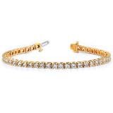 3.4mm Diamond Tennis Bracelet Mounting 14k Gold X2044