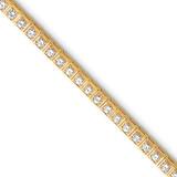 Diamond tennis bracelet 14k Gold X2163AA