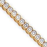 Diamond tennis bracelet 14k Gold X2323AA