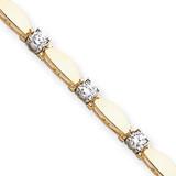 Diamond tennis bracelet 14k Gold X2363AA