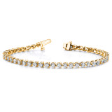 Diamond tennis bracelet 14k Gold X2838AA
