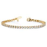 Diamond tennis bracelet 14k Gold X2839AA