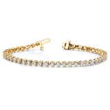 diamond tennis bracelet Mounting 14k Gold X2841