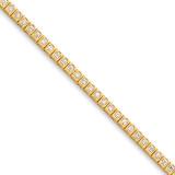 Diamond tennis bracelet 14k Gold X2894AA