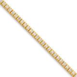 Diamond tennis bracelet 14k Gold X2895AA