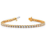 2.4mm Diamond Tennis Bracelet Mounting 14k Gold X732