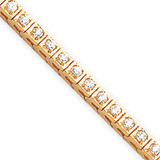 2.2mm Diamond Tennis Bracelet Mounting 14k Gold X755