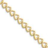 Add-a-Diamond Tennis Bracelet 14k Gold X849