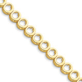 Add-a-Diamond Tennis Bracelet 14k Gold X852