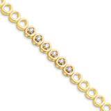 Diamond bracelet 14k Gold X853A