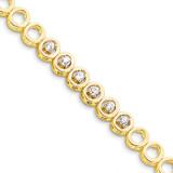 Diamond bracelet 14k Gold X856A