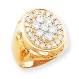 Diamond men's ring 14k Gold X9426AA