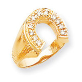 Diamond men's ring 14k Gold X9462AA