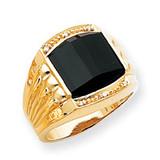 Diamond men's ring 14k Gold X9471AA
