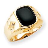 Diamond men's ring 14k Gold X9472AA