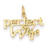 Perfect Wife Charm 14k Gold XAC293