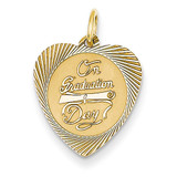 On Graduation Day Charm 14k Gold XAC329