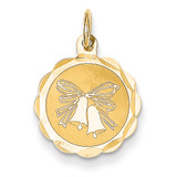 Wedding Bells Charm 14k Gold XAC460
