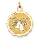 Wedding Bells Charm 14k Gold XAC463