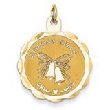 Wedding Bells Charm 14k Gold XAC483