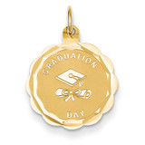 Graduation Day Charm 14k Gold XAC684