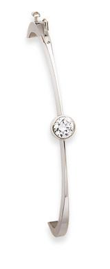 Bangle Bracelet Mounting 14k White Gold XB183