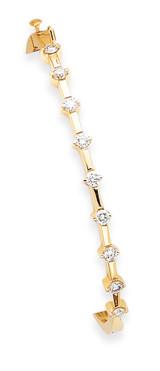 Bangle Bracelet Mounting 14k Gold XB220