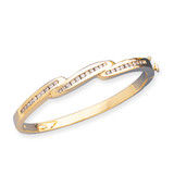 Bangle Bracelet Mounting 14k Gold XB71