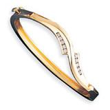 Bangle Bracelet Mounting 14k Gold XB72