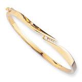 Bangle Bracelet Mounting 14k Gold XB83