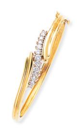 Bangle Bracelet Mounting 14k Gold XB96