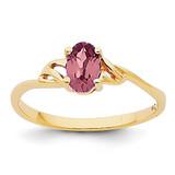 Rhodolite Garnet Birthstone Ring 14k Gold XBR135