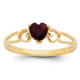 Garnet Birthstone Ring 14k Gold XBR154