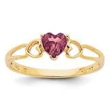 Rhodolite Garnet Birthstone Ring 14k Gold XBR159