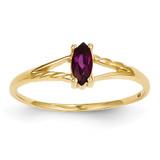 Rhodolite Garnet Birthstone Ring 14k Gold XBR183