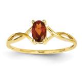 Birthstone Ring Mounting 14k Gold XBR226
