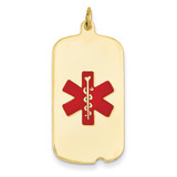 Medical Jewelry Pendant 14k Gold XM56