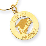 Personalized Graduation Charm 14k Gold XNA360Y