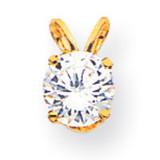 Diamond pendant 14k Gold XP10AA