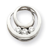 Diamond pendant 14k White Gold XP1475AA