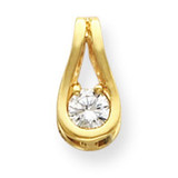 diamond pendant mounting 14k Gold XP1549
