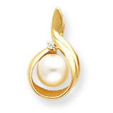 Cultured Pearl pendant mounting 14k Gold XP1742