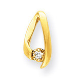 Diamond chain slide 14k Gold XP243AA