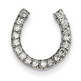 Diamond chain slide 14k White Gold XP643AA