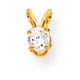 Diamond pendant 14k Gold XP6AA